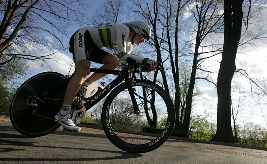 Havířov, 25.4.2012, cyklistika, kolo, Gracie, etapový závod, prolog, žena, ženský cyklistický etapový závod  Foto: MFDNES - Adolf Horsinka