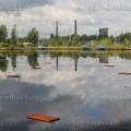 Ostrava, laguny, ropné laguny, zavápnìní, odstranìní